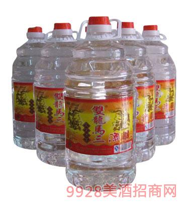 双龙马三高粱酒50度4Lx4