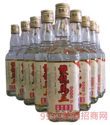 双龙马三高粱窖酒42、50度250mlx12