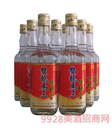 双龙马三陈酿窖酒450mlx12