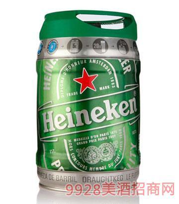 5L荷蘭進口喜力啤酒