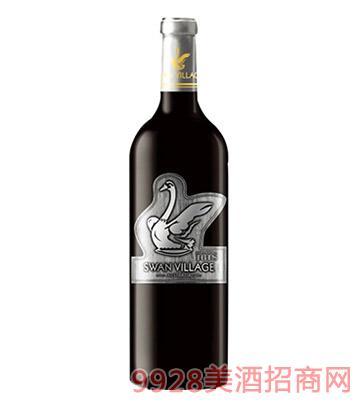 西澳天鹅干红葡萄酒(银标)
