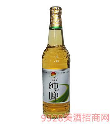 山公主啤酒-白鹤梁纯啤