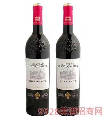 科隆舍庄园AOP波尔多干红葡萄酒12%vol750ml
