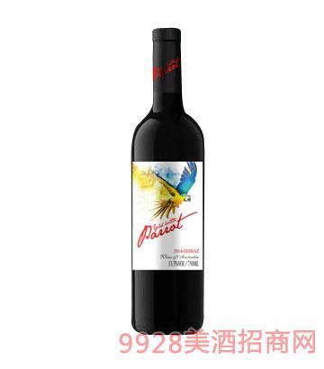金樽鹦鹉蓝精灵干红葡萄酒