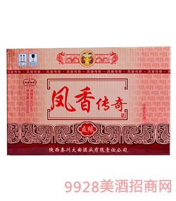 凤香传奇友缘酒45度(箱)
