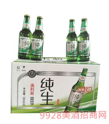 澳利斯纯生啤酒330mlx24箱装