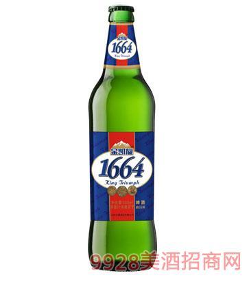 金凯旋1644原浆白啤啤酒