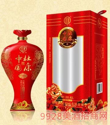 中国杜康酒精制中国红