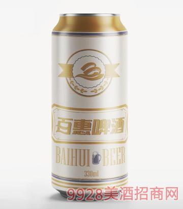 百惠啤酒白啤330ml