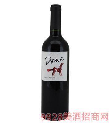 智利红酒Doma2010