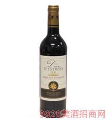 德斯公爵干红葡萄酒