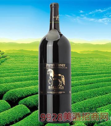 法国波尔多小马堡干红葡萄酒1500ml