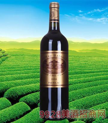 法国波尔多巴特利庄园红葡萄酒2006
