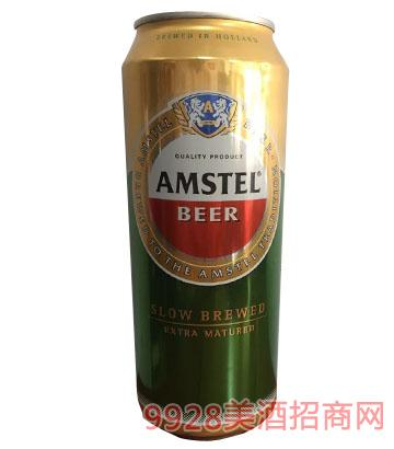 阿姆斯特啤酒罐装500ml