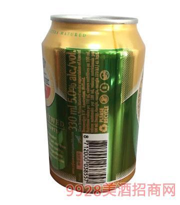 阿姆斯特啤酒罐装330ml