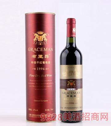 布里昂96赤霞珠特级干红葡萄酒