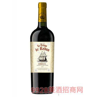 龙船家族干红葡萄酒13度750ml