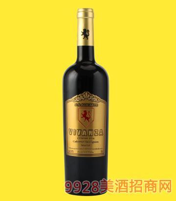 维西瓦生活艺术珍藏橡木桶干红葡萄酒