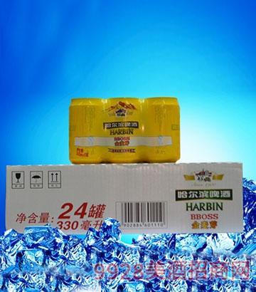 哈尔滨啤酒金麦芽啤酒组合(箱)装