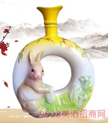 金酱世家酒·生肖兔