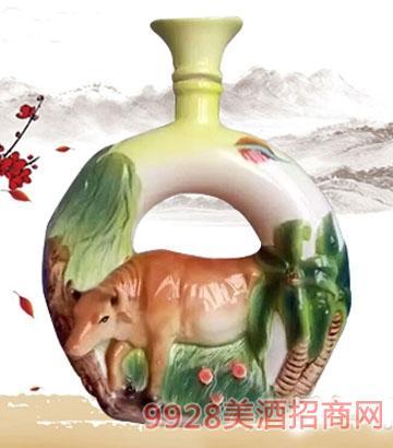 金酱世家酒·生肖牛