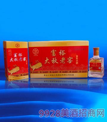 39富裕大秋老窖-蓝鲸坊酒