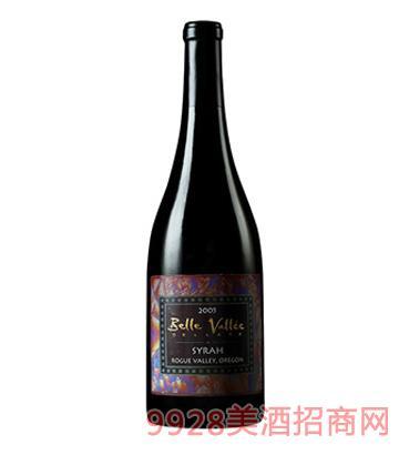 迷人谷西拉红葡萄酒