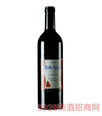 迷人谷梅洛红葡萄酒