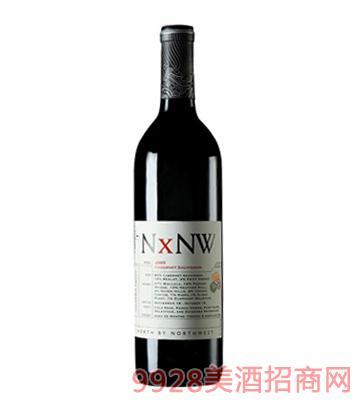 西北偏北赤霞珠红葡萄酒