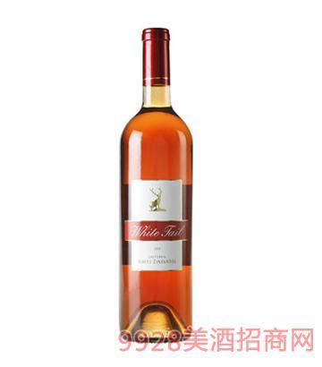 豪客庄园白尾鹿仙粉黛桃红葡萄酒