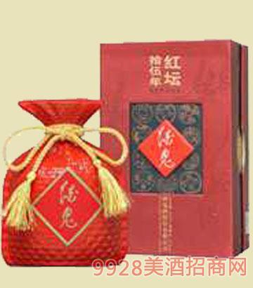 酒鬼封坛十五年红坛