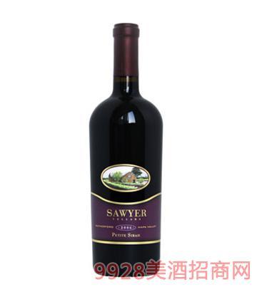 帅爷酒窖小西拉红葡萄酒