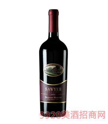 帅爷酒窖梅里蒂奇红葡萄酒