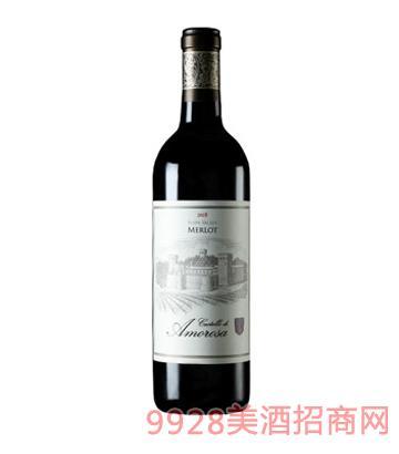 爱之堡梅洛红葡萄酒