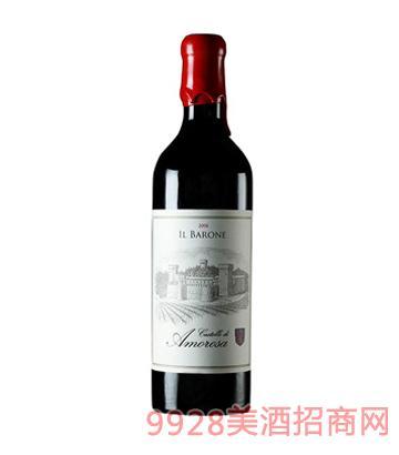 爱之堡男爵红葡萄酒