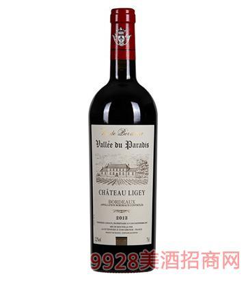 天堂谷酒庄拉德芳斯波尔多干红葡萄酒
