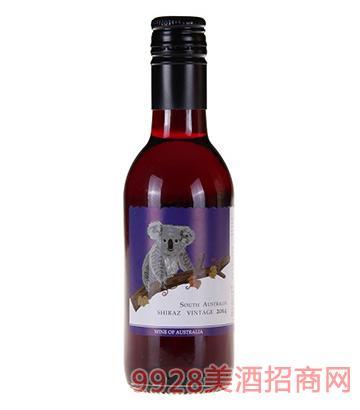 圣骑庄园—树袋熊西拉干红葡萄酒