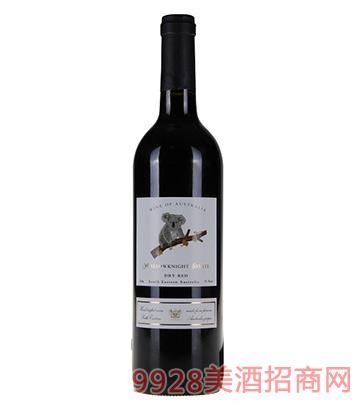 圣骑庄园小熊干红葡萄酒