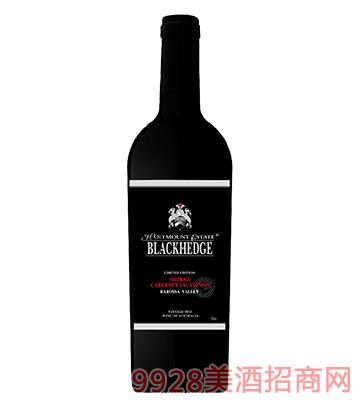 圣骑庄园庄主珍藏版黑标混酿干红葡萄酒