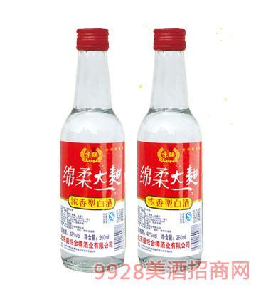 綿柔大曲酒260mlx20