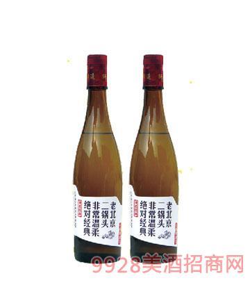 老北京二锅头棕瓶248ml酒