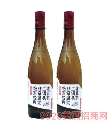 老北京二锅头棕瓶酒