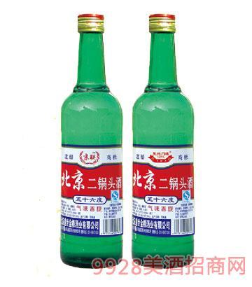 北京二锅头绿瓶酒