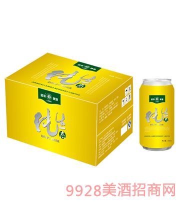 蓝渤啤酒纯生态罐装500mlx12