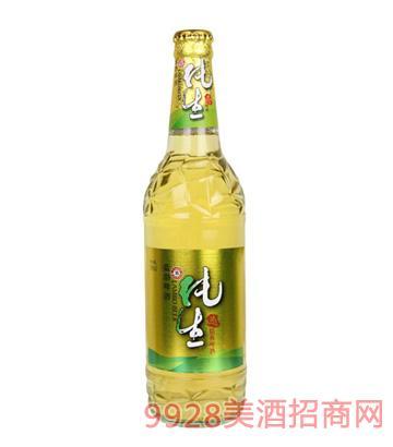 蓝渤啤酒纯生态588ml
