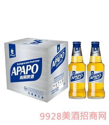 青果啤酒330mlx12纸箱