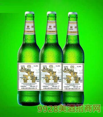 新雪鹿啤酒590ml