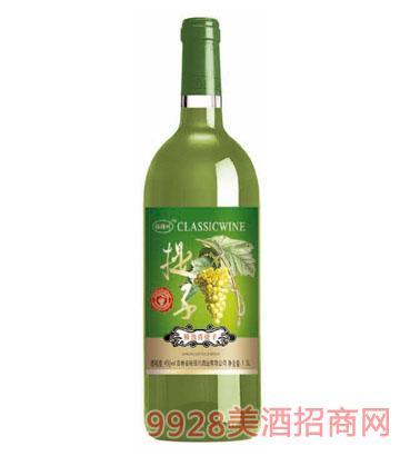 裕佰川精选青提子葡萄酒