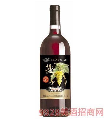 裕佰川精选黑提子葡萄酒