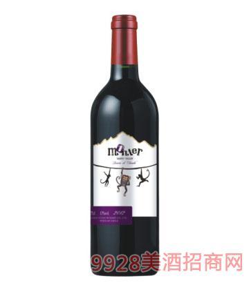 蒙特尔佳美娜干红葡萄酒750ml13%vol